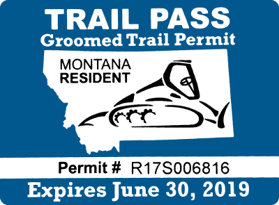Groomed Trail Permits | Snowmobiling | Big Boys Toys | Bozeman, MT