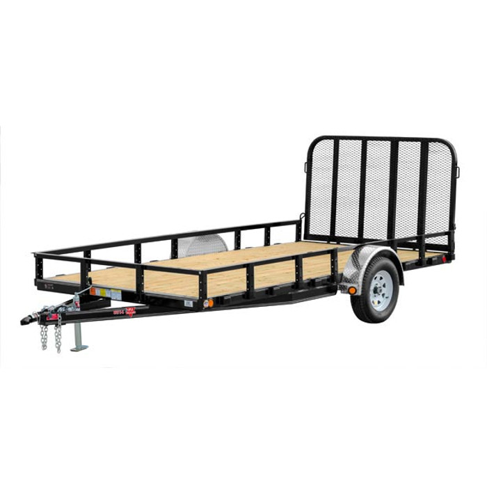 Bozeman Trailer Rentals | 83 inch Channel Utility Trailer | Big Boys Toys