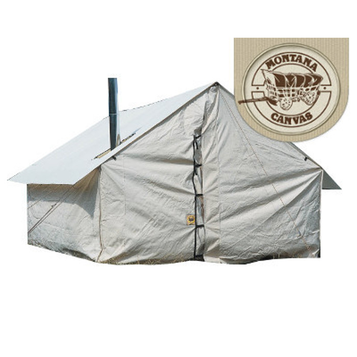 Wall tent by montana canvas big boys toys outdoor rentals for Cheap wall tent
